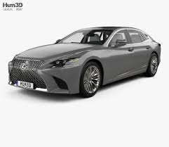 lexus ls interior 2017 lexus ls xf50 with hq interior 2017 3d model hum3d
