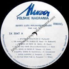 z muzycznej szafy złote lata polskiego beatu 1965 vol 1 1991