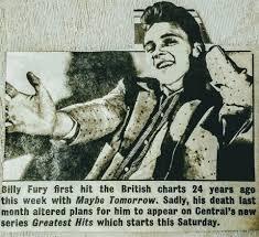 billy fury from tony diggins billy fury britain u0027s greatest