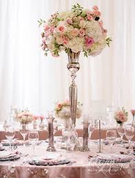 2016 blush pink wedding reception centerpiece love the pops of