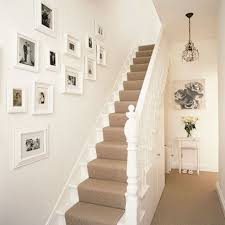 Home Decorating Ideas Uk White Walls And Picture Frames In Hallway Decorating Ideas
