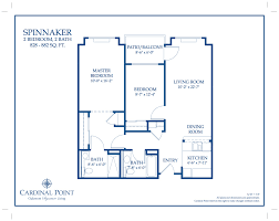 floor plan gallery u2013 oakmont of cardinal point
