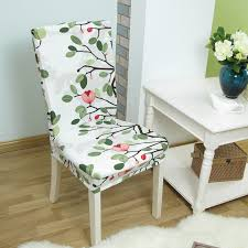 chair covering 1pcs leaf flower heart stretch home decor dining chair cover
