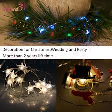 wedding decoration small battery operated led mini copper wire