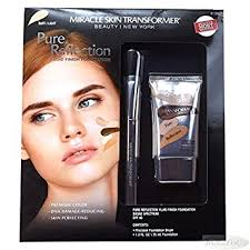 miracle skin transformer light amazon com miracle skin transformer pure reflections fluid finish