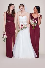 Dusty Rose Wedding Dress Long Bridesmaid Dresses You U0027ll Love David U0027s Bridal