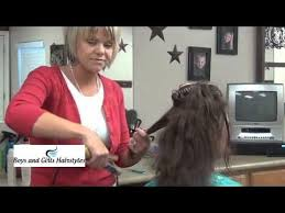 radona hair cut video how to cut and style chunky bob hairstyles tutorial youtube