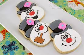 frosty snowman cookies tutorial semi sweet designs