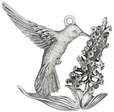 hummingbird tree ornament handcrafted in the usa