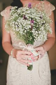 baby s breath bouquet wedding trend baby s breath