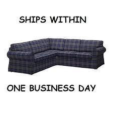 Ikea Couch Cover Ikea Ektorp 2 2 Corner Sofa Cover Slipcover Rutna Multicolor Ebay