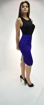 high waisted pencil skirt midi bodycon high waist pencil skirt silhouette nyc