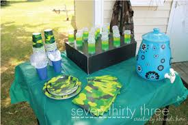 Army Themed Birthday Party Inspiration Made Simple