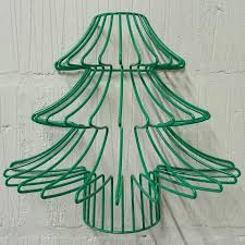 claus metal wire frame lshade tree light festive