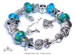 european silver charm bracelet images Pandora 925 ale silver charm bracelet w european charms ocean jpg
