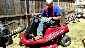 Riding Mower 13 5 Hp Craftsman Youtube