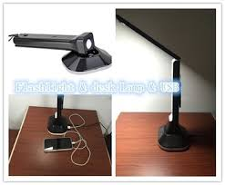 Desk Lamp With Power Outlet New Product Patent Design Triangle Folding Led Desk Lamp With Usb