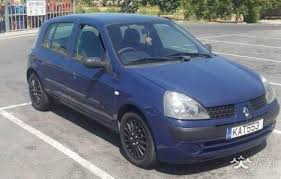clio renault 2003 renault clio 2003 hatchback 1 2l petrol manual for sale paphos