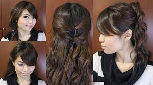 Easy Hairstyles For Medium Straight Hair by Casual Hairstyles For Long Hair Harvardsol Com