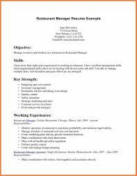 Resume Sample Kitchen Manager by Restaurant Server Resume Sop Proposal