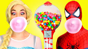 spiderman u0026 frozen elsa joker pink spidergirl anna u0026 batman