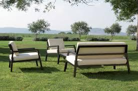 canape jardin aluminium salon de jardin en aluminium modena