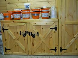 Pine Barn Door by Amish Pine Furniture Cabinets Tack Boxes Feed Bins