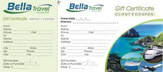 travel gift certificates travel gift certificate about tours travel