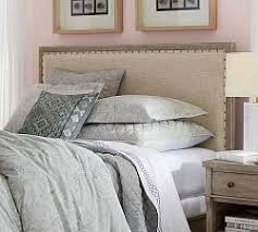 Headboards With Built In Lights Beds U0026 Headboards Pottery Barn