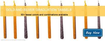 gold tassel graduation tassels in gold and silver