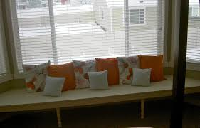 perfect minimalist bay window seat design ideas with white tones