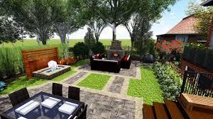 proland landscape design concept small backyard backyard