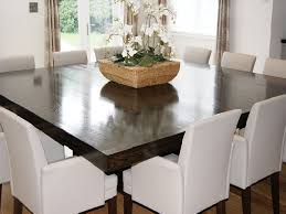Spacious Square Dining Room Table For 12 5780 With Regard To Remodel