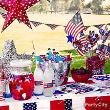 Fourth Of July Table Decoration Ideas 4th Of July Party U0026 Decoration Ideas Party City