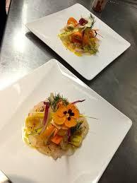 cuisine a la cagne sashimi de loup sauvage méditerranée picture of le bistrot de la