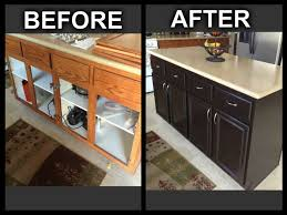 Gel Stain Kitchen Cabinets Before After Recently Lowes Gel Stain For Cabinets Kitchen Cabinets