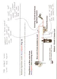 astonishing ignition coil ballast resistor wiring diagram 75 for