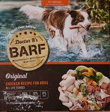 frozen food for dogs b a r f canine country dr billinghurst raw