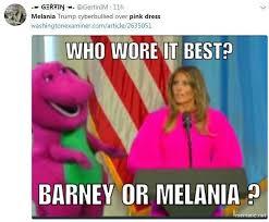 Meme Pink - melania trump s bright pink 癸2 1850 marshmallow dress inspires
