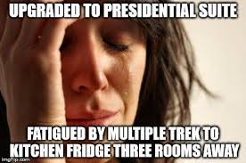 Meme Suite - presidential suite upgrade first world problem imgflip
