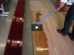 flooring tutorial how to apply bona amberseal polytone wood