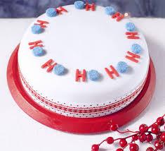ho ho ho merry christmas cake recipe bbc good food