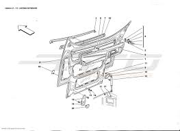 ferrari front drawing ferrari f355 2 7 body parts at atd sportscars atd sportscars