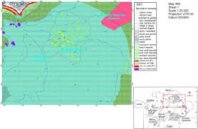 Elac Map Interactions Between Late Quaternary Volcanic And Sedimentary