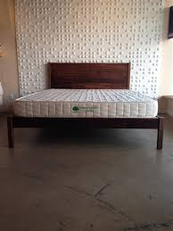 Wood Platform Bed Green Solid Wood Platform Bed