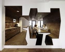 Kitchen Office Design Ideas Marvelous Unique Shapped Furniture Kitchen Office Interior Design