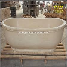marble bathtub well designed bathroom beige color solid marble bathtub buy