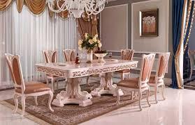 italienische esszimmer designer esstisch stühle italienisch stil mit luxus gestaltung im
