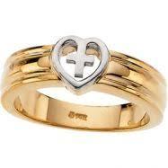 religious rings gold religious rings men s cross rings at jewelry adviser