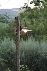 Outdoor Driveway Lighting Fixtures Wooden Light Post Patio Pinterest Light Posts Lights And